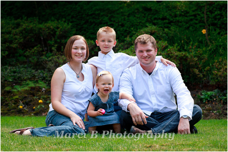 Willamette Valley family portraits