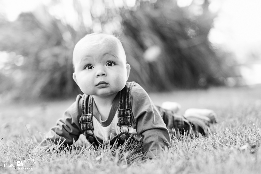 Corvallis, Or Baby photography - 7 months - infant - Oregon