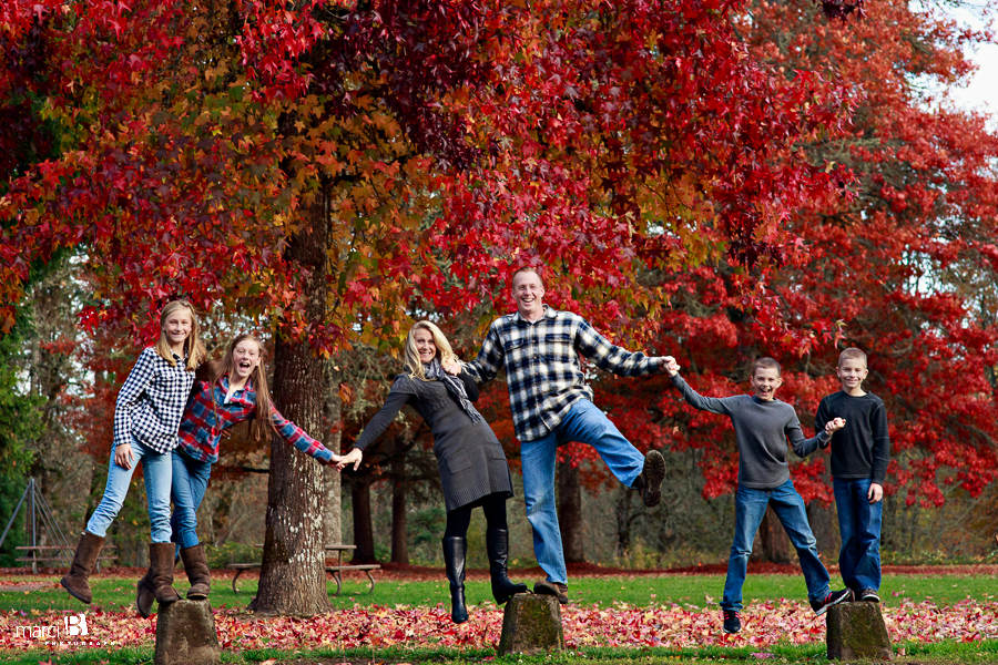 Family Photography - Corvallis, Oregon - Avery Park - Fall Colors