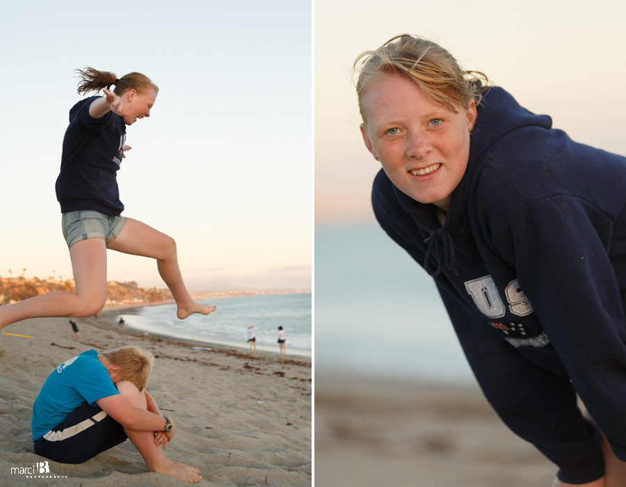 Beach Vacation - family photography