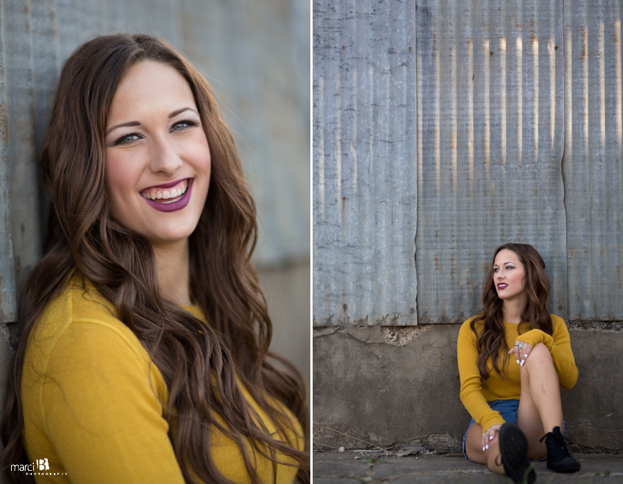 Corvallis, Oregon Senior Portrait Photography - Senior girl