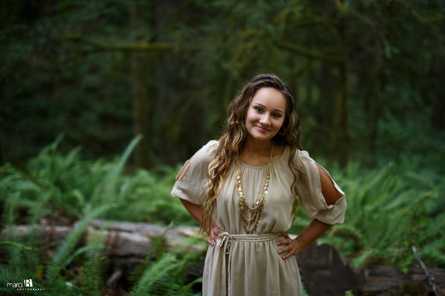 Corvallis Senior Photography | forest