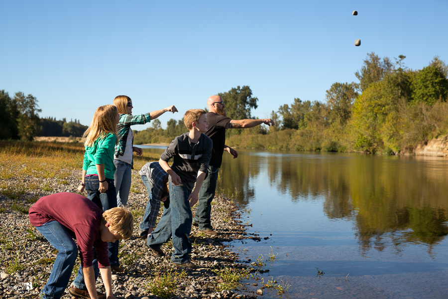Corvallis Family Photography - Willamette River