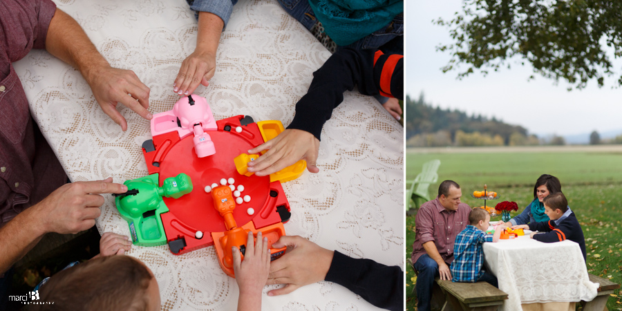 Corvallis Family Photography - board games
