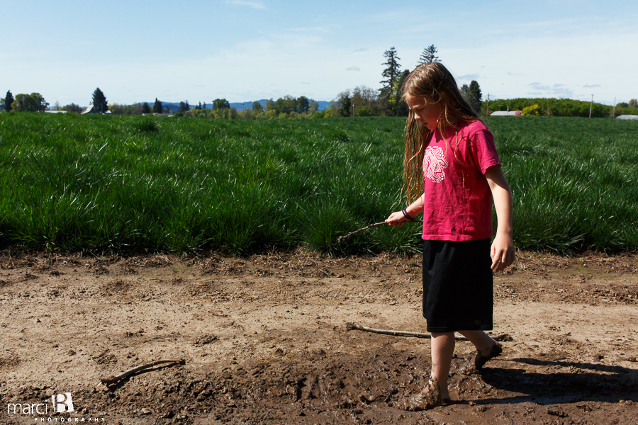 Corvallis photography - farm - kids