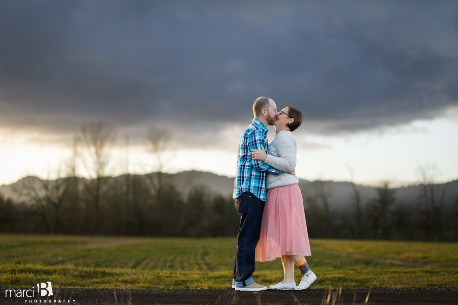 Mara + Jake Engagement | Corvallis Photography